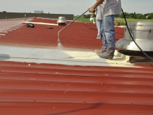 SPF-on-metal-roof-ohio