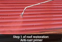 applying-rust-resistant-primer-to-metal-roof