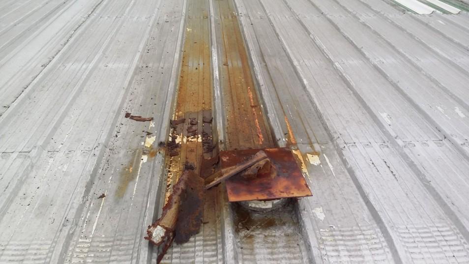 metal roof repair avon ohio