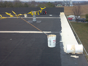 Rubber Roof Repair Elyria OH PIC 2